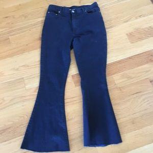 NWT 3.1 Phillip lim stretch jeans with raw hem